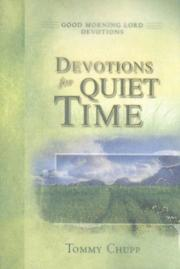Cover of: Devotions for Quiet Time (Good Morning Lord Devotions)