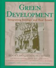 Cover of: Green development | Rocky Mountain Institute