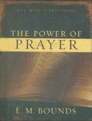 Cover of: The Power of Prayer (One-Minute Devotions)