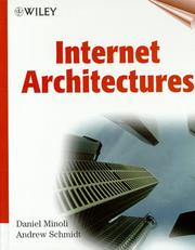 Cover of: Internet architectures | Daniel Minoli