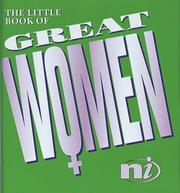 Cover of: The Little Book of Great Women