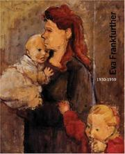 Cover of: Eva Frankfurther 1930-1959