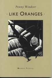 Cover of: Like Oranges