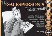 Cover of: The Salespersons Pocketbook