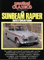 Cover of: Practical Classics on Sunbeam Rapier Restoration