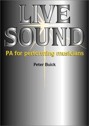 Live Sound by Peter Buick