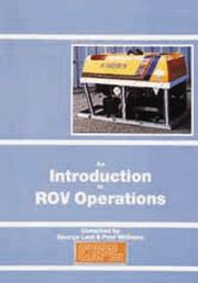 Cover of: An Introduction to ROV Operations