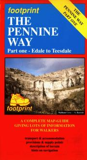 Cover of: The Pennine Way