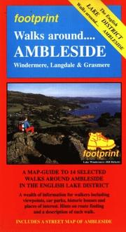Cover of: Walks Around Ambleside: A Map-Guide to 14 Selected Walks Around Ambleside in the English Lake District