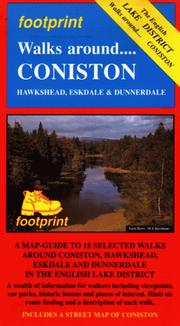Cover of: Walks Around Coniston, Hawkshead, Eskdale & Dunnerdale, a Map-Guide