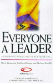 Cover of: Everyone a leader | Horst Bergmann