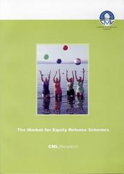 Cover of: The Market for Equity Release Schemes
