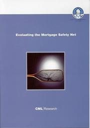 Cover of: Evaluating the Mortgage Safety Net