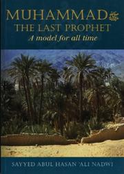 Cover of: Muhammad the Last Prophet