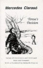 Cover of: Teresa's Decision
