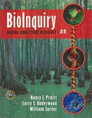 Cover of: BioInquiry | Nancy L. Pruitt