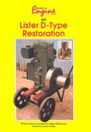 Cover of: Stationary Engine on Lister D Type Restoration (Stationary Engine)
