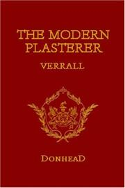 The modern plasterer by W. Verrall