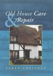 Cover of: Old House Care and Repair