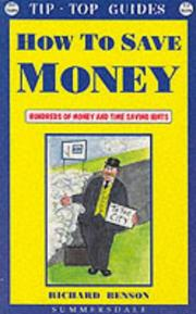 Cover of: How to Save Money