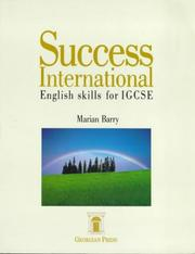 Cover of: Success International