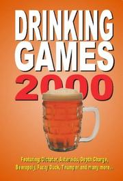 Cover of: Drinking Games 2000