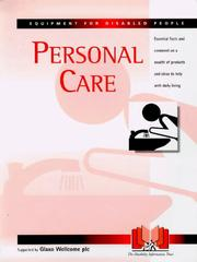 Cover of: Personal Care (Equipment for Disabled People)