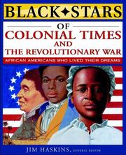 Cover of: Black stars of colonial and revolutionary times | James Haskins
