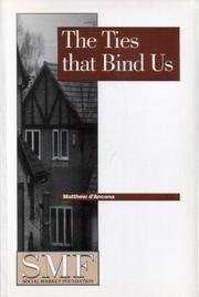Cover of: The Ties That Bind Us,