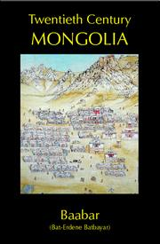 Cover of: Twentieth Century Mongolia