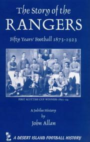 Cover of: The Story of the Glasgow Rangers (Desert Island Football Histories)