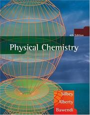 Cover of: Physical chemistry | Robert J. Silbey