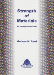 Cover of: Strength of Materials