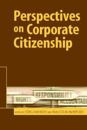 Cover of: Perspectives on Corporate Citizenship |