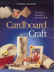 Cover of: Cardboard Craft