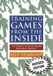 Cover of: Training Games from the Inside