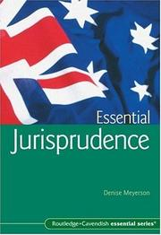 Cover of: Essential Jurisprudence | Denise Meyerson