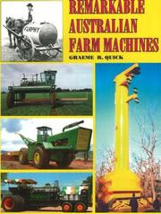 Cover of: Remarkable Australian Farm Machine