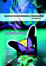 Cover of: Maintain Environmental Procedures | Stephen Harvey