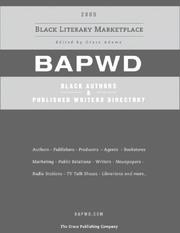 Cover of: Black Authors & Published Writers Directory | Grace Adams