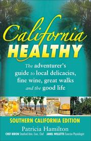 Cover of: California healthy