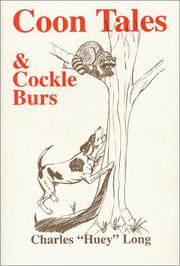 Cover of: Coon Tales & Cockle Burs | Charles Long