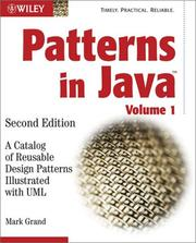 Cover of: Patterns in Java