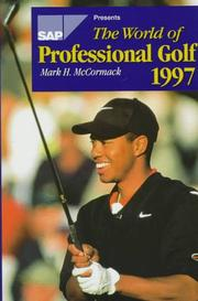 Cover of: The World of Professional Golf 1997 (World of Professional Golf)