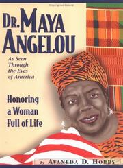 Cover of: Dr. Maya Angelou  | Avaneda D. Hobbs