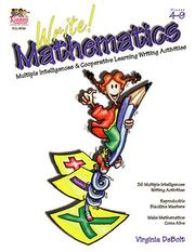 Cover of: Write! Mathematics | Virginia Debolt