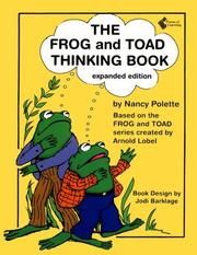 Cover of: Frog and Toad Thinking Book