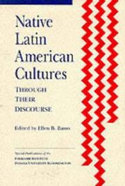 Cover of: Native Latin American Cultures