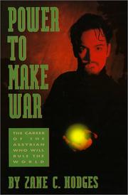 Cover of: Power to Make War