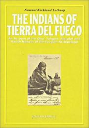 Cover of: The Indians of Tierra Del Fuego